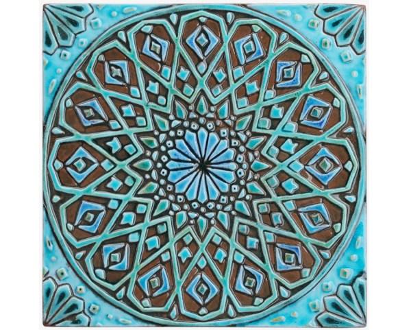 Moroccan Wall Hanging Ceramic Exterior Art