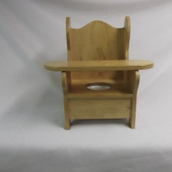Wooden Potty Training Chair High Tulle Skirt With Tray By Wonderwoodshop On Etsy