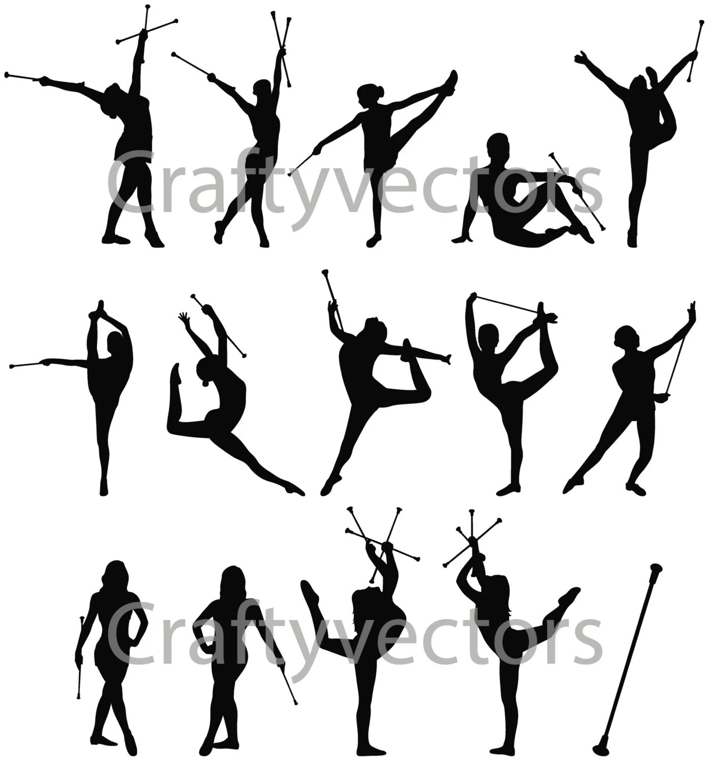 Popular items for baton twirling on Etsy