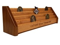 5 Tier Wooden Military/Challenge Coin Holder