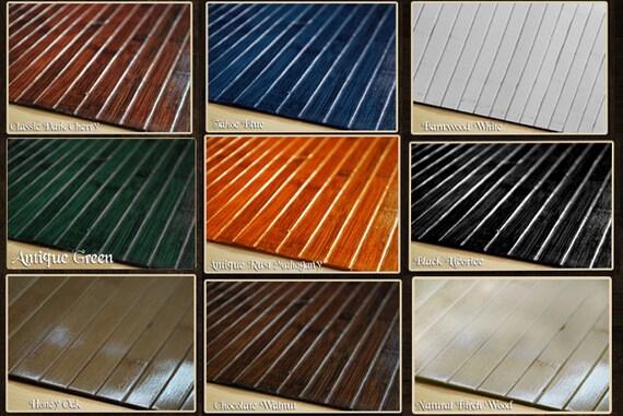Bamboo Chair Mat Office Floor Mat Hard Wood Floor by ecosleek