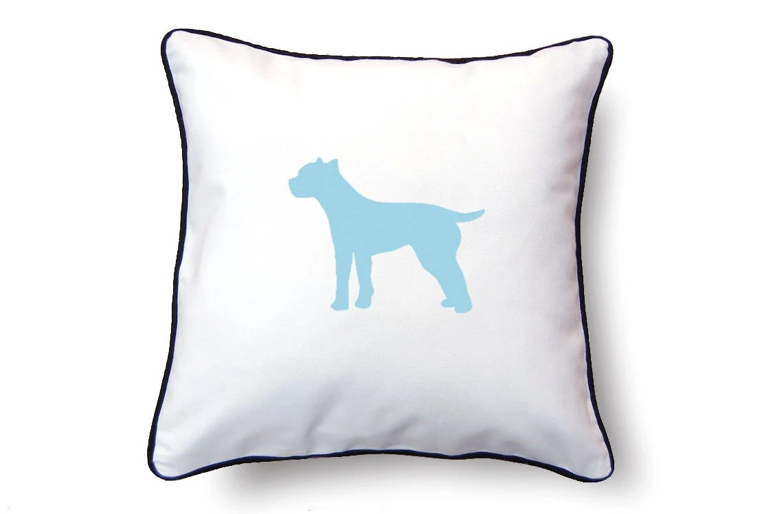 Pit Bull Terrier Pillow 18x18 Pit Bull Terrier by