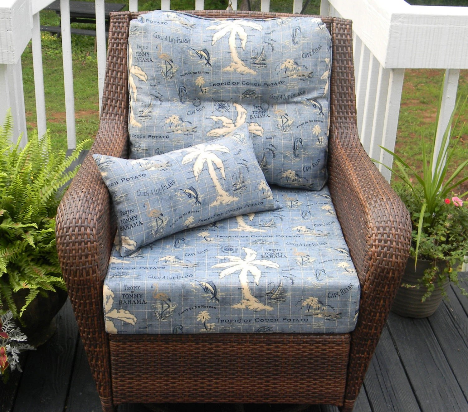 indoor outdoor chair cushions adirondack ski deep seating cushion set seat and back