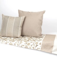 Leaves and Vines Bed Scarf and Matching Bed Pillows by ...