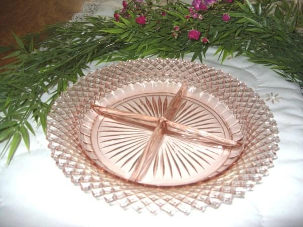 Miss America Pink Depression Glass Pattern