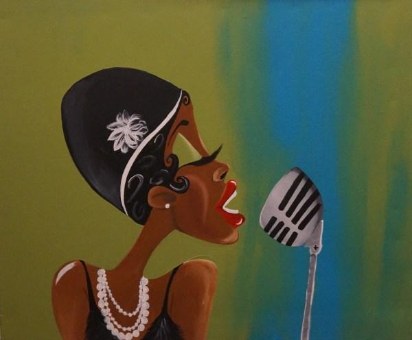 Black Art African American Fannie Flapper Artbytiffani