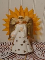 vintage lighted angel tree topper