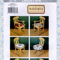 Sewing Patterns For Patio Chair Cushions White Bistro By Ashland Easy Pads Six Styles 18