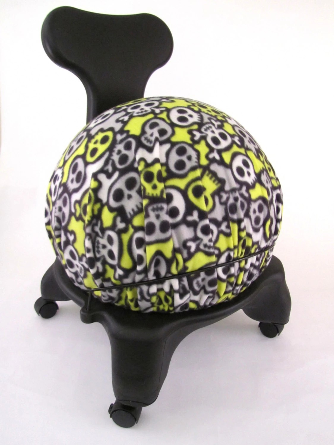 fitball balance ball chair dining room covers on sale exercise cover fits isokinetics by