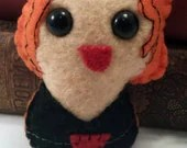 Black Widow plushie...