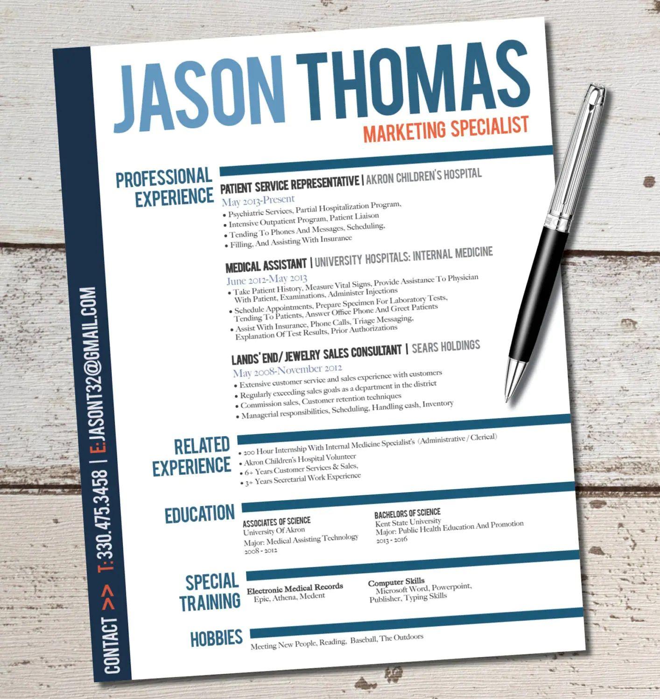 jason resume design