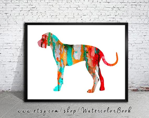 Great Dane Decor Etsy