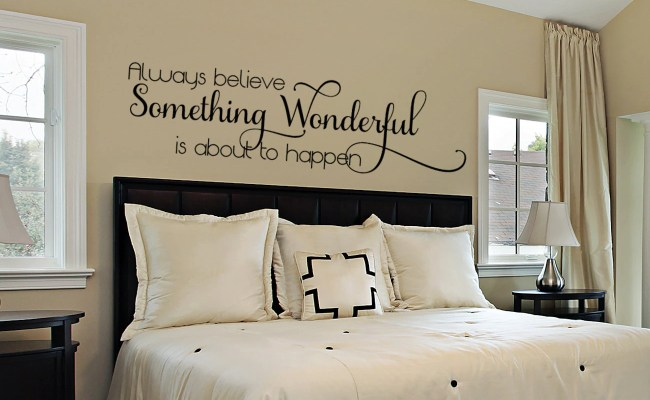 Bedroom Wall Decal Master Bedroom Wall Decal Wall Decals