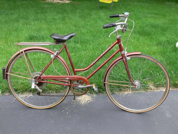 Vintage Schwinn Suburban Womens Girls Bike Bicycle Original