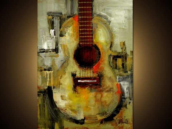 Original Painting Modern Abstract Art Slazo 30x40