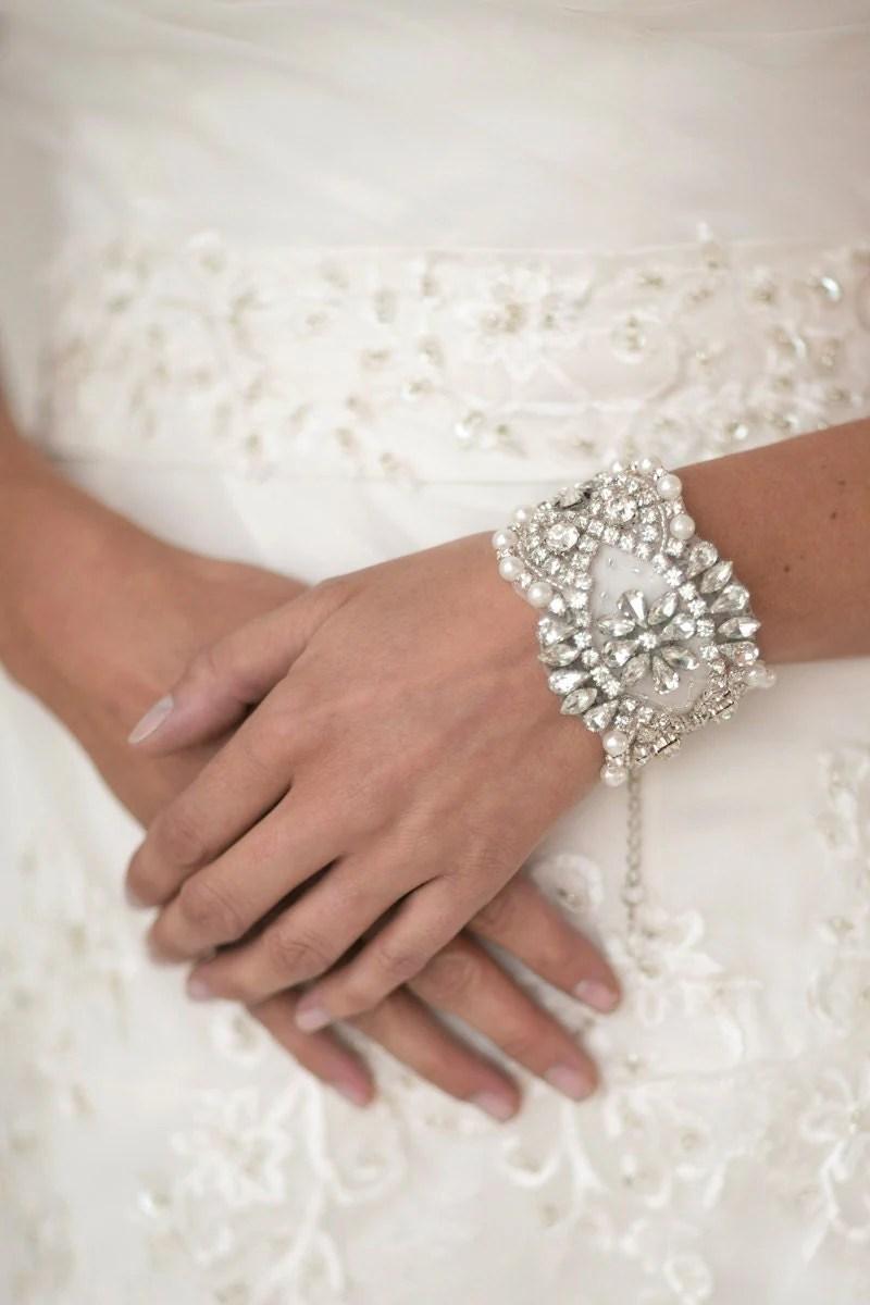 Wedding Pearl Bracelet Bridal Jewelry Bridal Bracelet