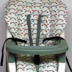 Graco Contempo High Chair Replacement Cover Folding Recliner Lounge Trains