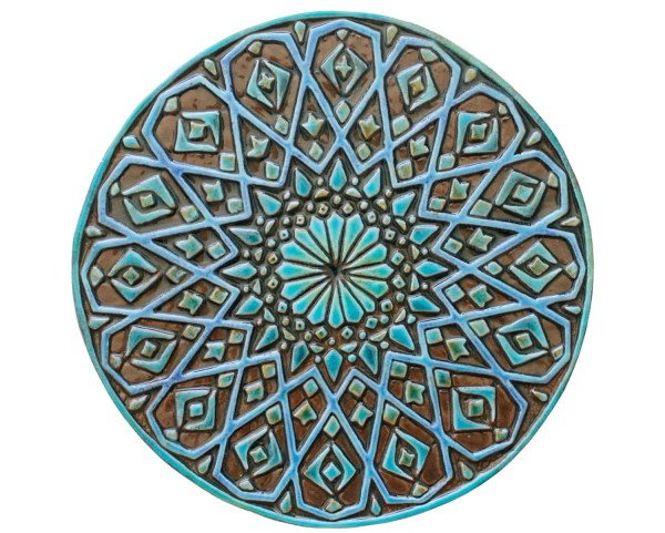 Moroccan Wall Decor Ceramic Exterior Art