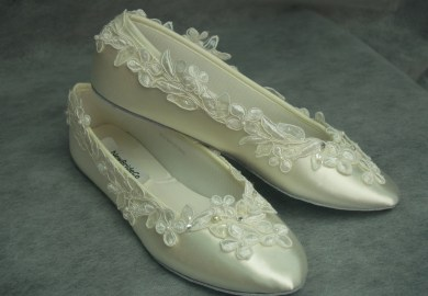 Lace Wedding Shoes 10w