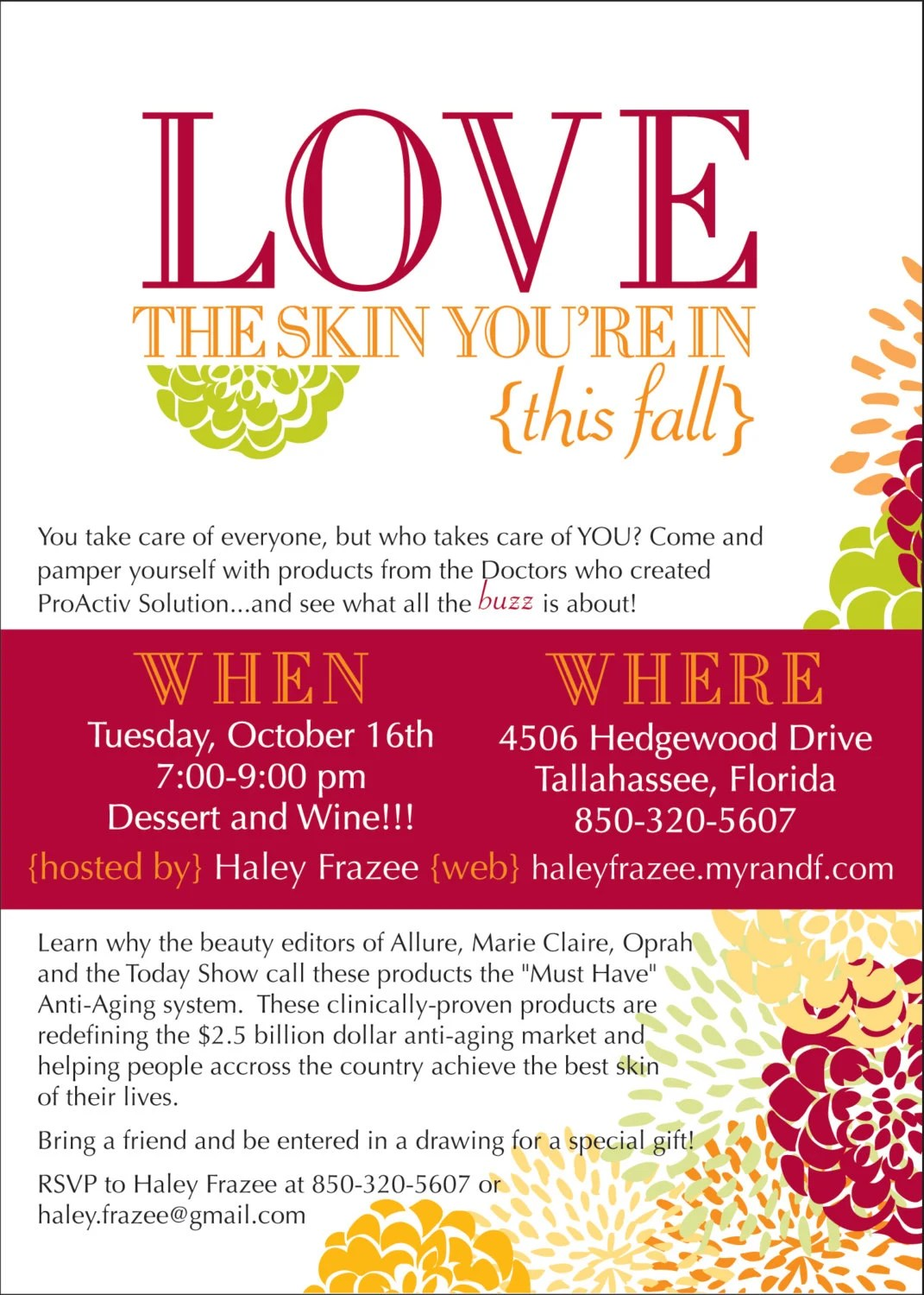Love The Skin You Re In Invitation Diy Or By Lauraleidesign