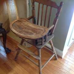Antique Wood Chair Old Office And Table High