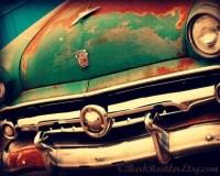 Vintage Truck Rustic Wall Art Classic Car Art Prints
