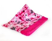 pink dog dachshund fleece...