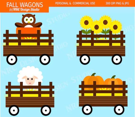 cute fall farm clip art festive