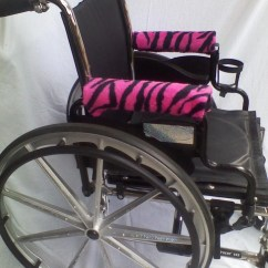 Power Chair Accessories Bags Wayfair Chaise Lounge Chairs Handmade Wheelchair Or Armrest Covers Fleece With