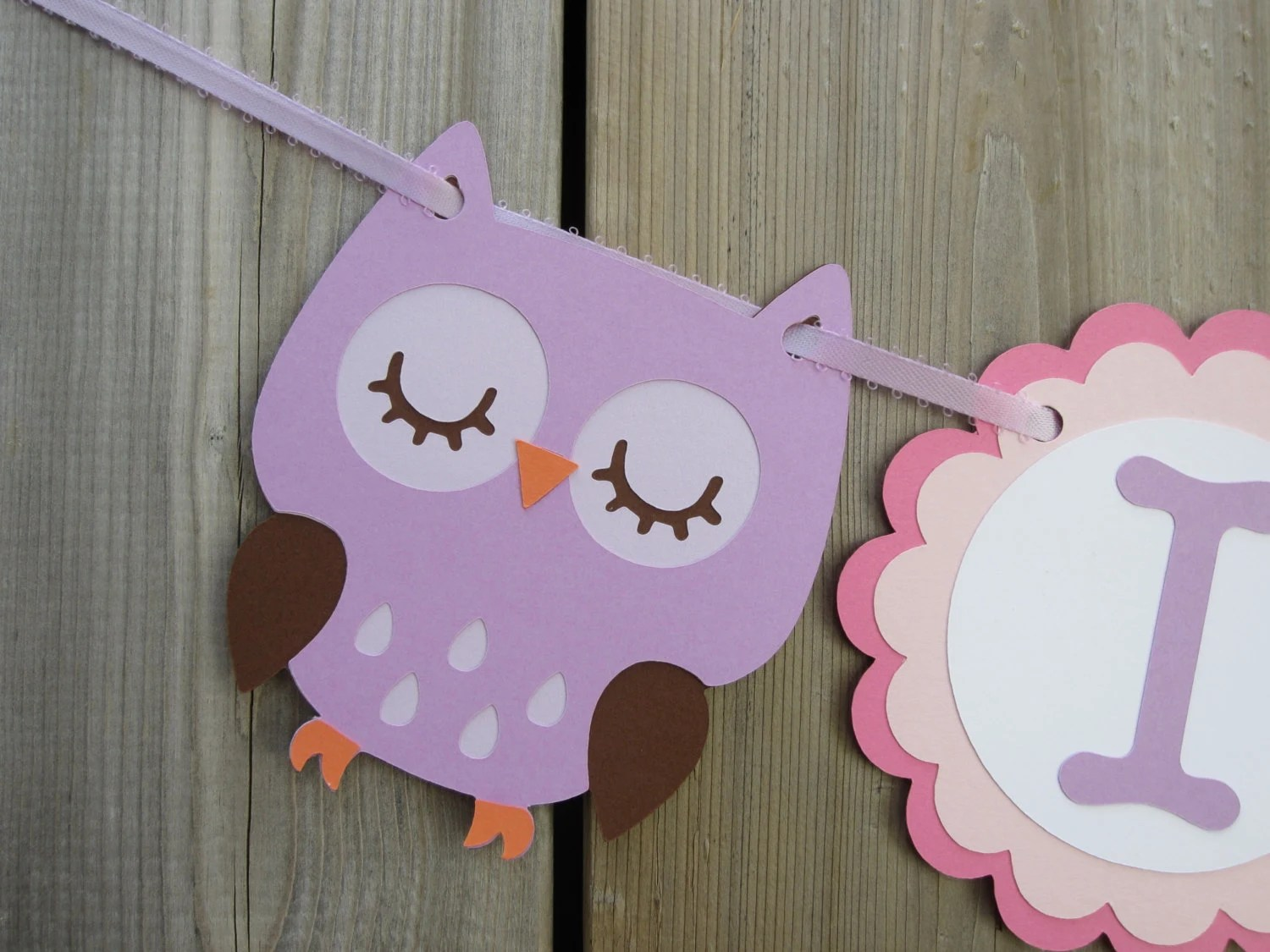 Owl High Chair I Am 1 Owl High Chair Banner Banner First By