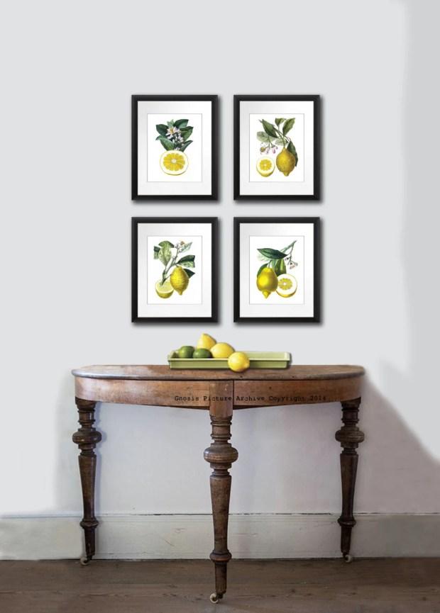 Lemon Wall Art - Home Design Ideas