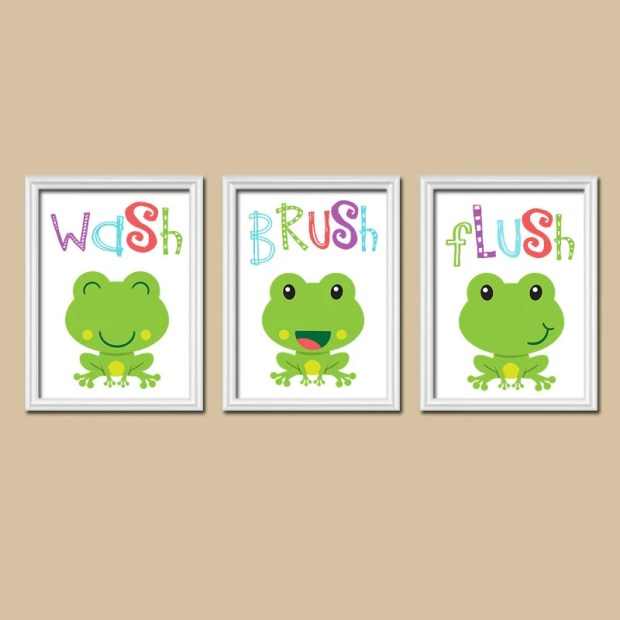 Frog Wall Decor - Home Design Ideas