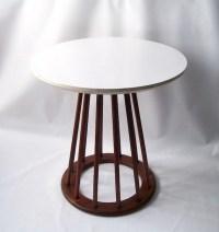 vintage danish modern table mid century drexel side occasional