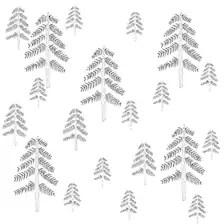 Organic Baby Leggings...Pine Trees...Designed by MilliLee
