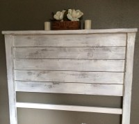 Items similar to Rustic wood headboard, local pick up only ...