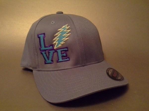 Grateful Dead Live Flexfit Hat Curved Brim Order