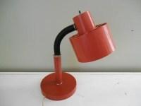Retro Orange Desk Lamp by C.N. Burman Co by TheRetroRemedy ...
