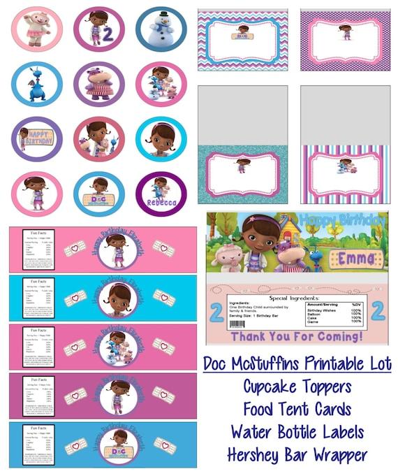 Doc Mcstuffins Party Food Ideas
