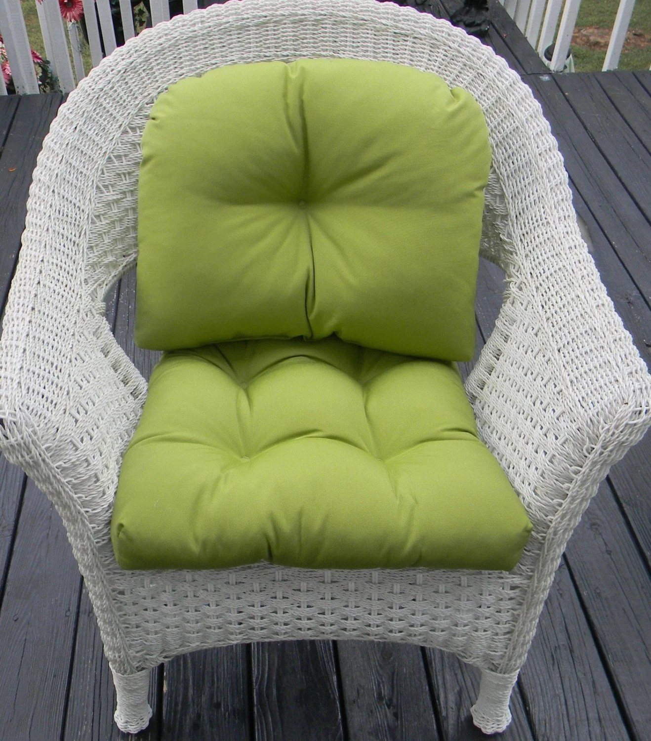 Back Pillow For Chair Indoor Outdoor Wicker Chair Cushion And Back Pillow Cushion