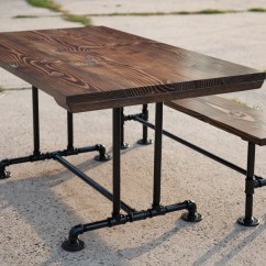 Industrial Kitchen Table Pantry Cabinet For 5ft Style Farmhouse Dining