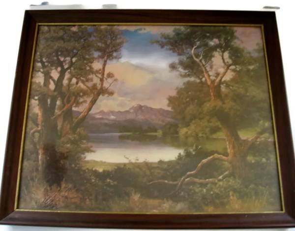 Robert Wood Framed Art Print Eclecticvintager