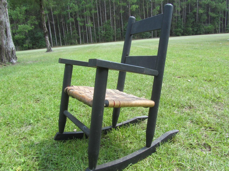 childs wooden rocking chair transport wheel wood children 39s