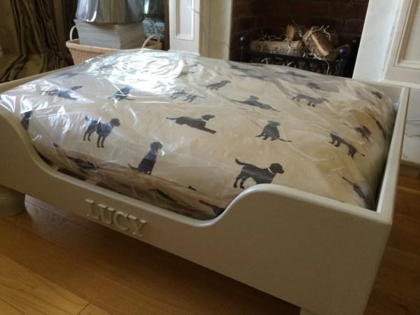 Hand Bespoke Luxury Wooden Dog Beds