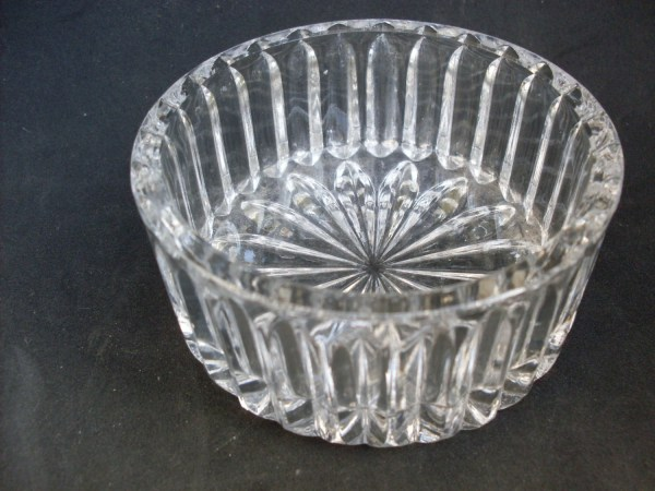 Vintage Italian Glass Large Serving Bowl 1940s-1945s