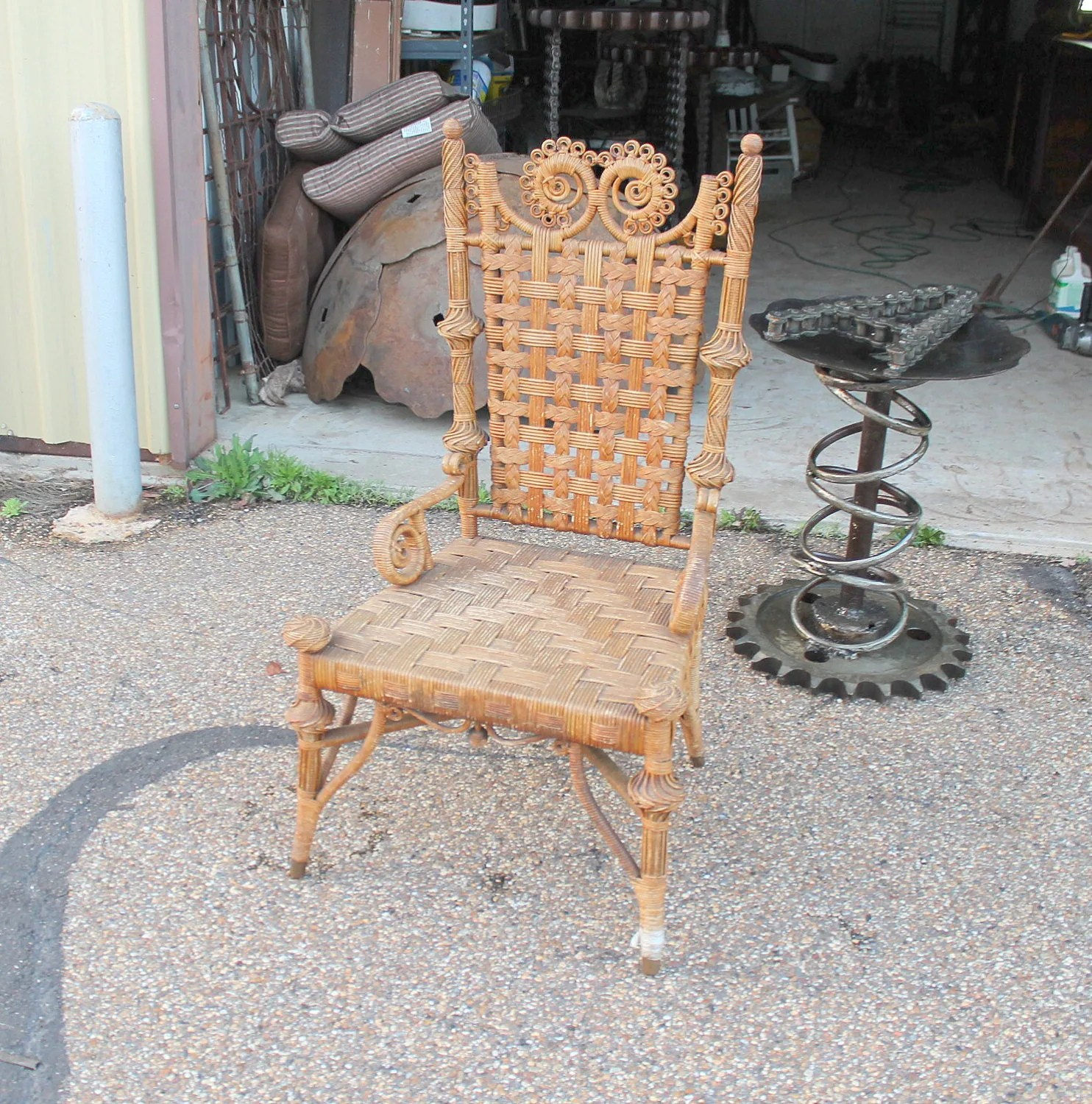 Antique Wicker Chairs Unavailable Listing On Etsy