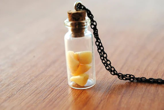 Human Teeth Necklace