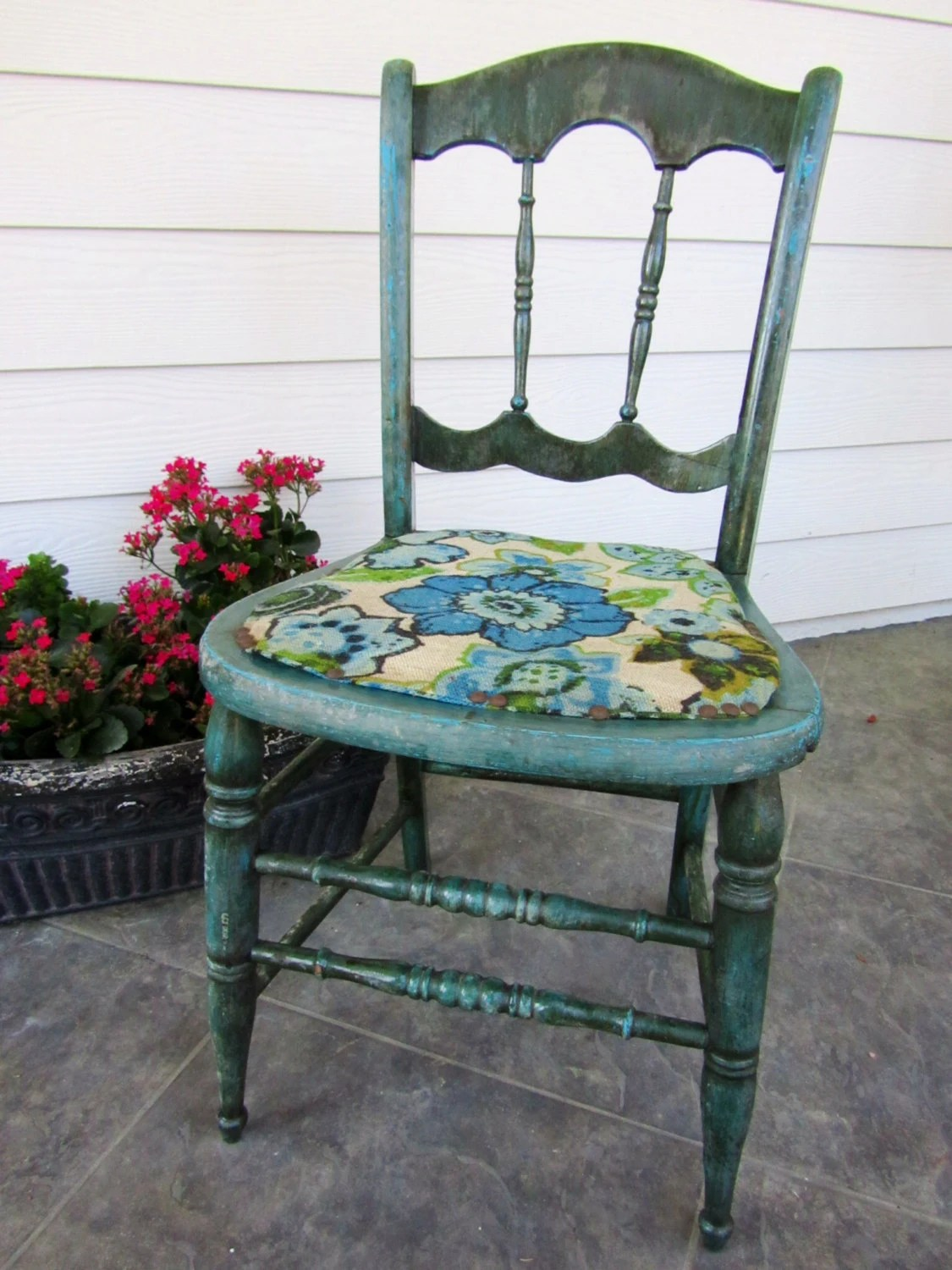 funky wooden chairs king folding chair shabby chic retro distressed side