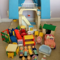 Little Tikes Doll High Chair Leather Theater Chairs Vintage Dollhouse Furniture By