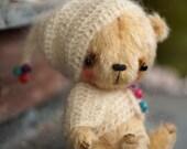 """OOAK Teddy Bear Little Magician 5.5"""" - makubears"""