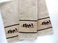 Bath Towels towels hand towel tan bathroom Brown linen
